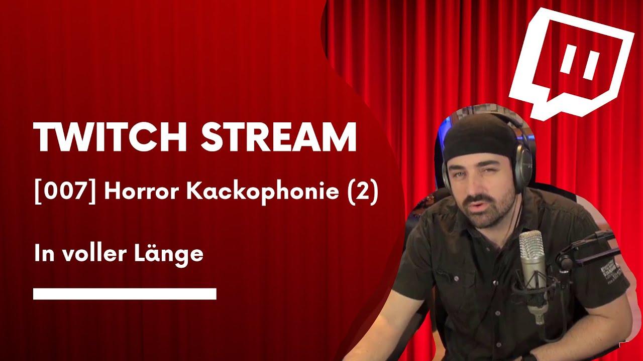 Horror Kackophonie Teil 2